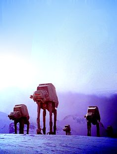 Imperial Walkers On The North Ridge