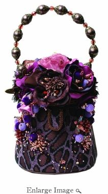 Mary Frances Bag Purple Rose