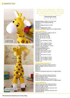 Crochet Stitch pattern - Amigurumi Lilo and Stitch crochet pattern - Disney crochet pattern- Crocheted Stuffed Toys for baby Knitting Dolls Free Patterns, Knitted Dolls Free, Crochet Doll Pattern, Amigurumi Patterns, Crochet Patterns, Simply Knitting, Free Knitting, Baby Knitting, Giraffe Toy