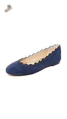 b7a140c299bac2 sam edelman womens felicia ballet flat nautical blue suede 10.5 m us ...