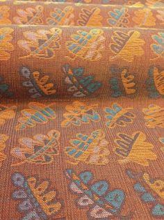 Cefyn Burgess Oak Leaf 100% wool Available in copper, yellow, cherry, purple, lemon and blue
