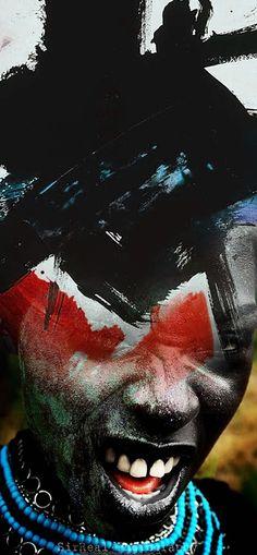 "Antonio Mora - ""Abstrakt Black""    If you are interested in purchasing works of Antonio Mora, send e-mail to pil4r@routetoart.com"