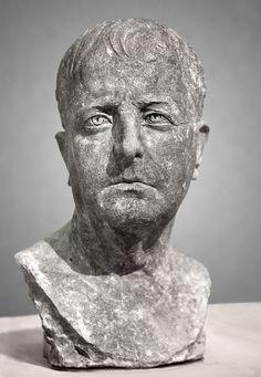 (c. 50 BCE) Terracotta Portrait of a Republican Man