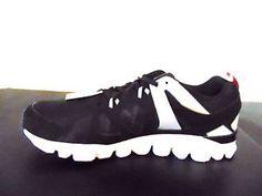 ab59064d381 Reebok Men s Hexaffect Run 2.0 MemoryTech Black Gray White Running Shoe Size  12
