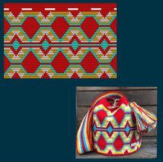 Tapestry Bag, Tapestry Crochet, Chrochet, Vera Bradley Backpack, Weaving, Embroidery, Purses, Pattern, Crafts