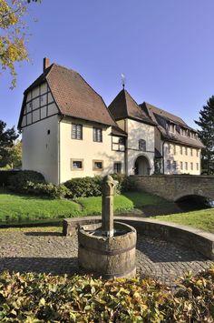 old abbey in Bersenbrück