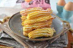 Biscuiti de casa spritati - Retete culinare by Teo's Kitchen Romanian Desserts, Onion Rings, Biscuit, Vegetables, Cooking, Ethnic Recipes, Sweet, Hijab Outfit, Food