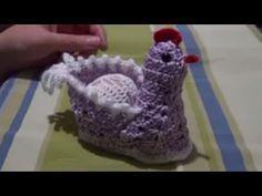 Easter chickens пасхальные вязаные курочки вязание крючком crochet pattern for free - YouTube Easter Crochet Patterns, Crochet Birds, Crochet Hats, Bird Crafts, Easter Crafts, Crochet Chicken, Amigurumi Tutorial, Easter Baskets, Arm Warmers