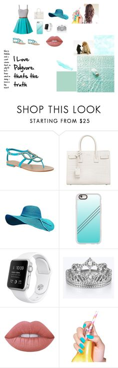 """""""fabouls"""" by laurenj709 on Polyvore featuring Yves Saint Laurent, Casetify, Lime Crime and Essie"""