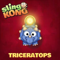 I got Triceratops! #SlingKong http://onelink.to/slingkong