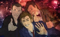 The Doctors! by OnceInAwhile89.deviantart.com on @deviantART