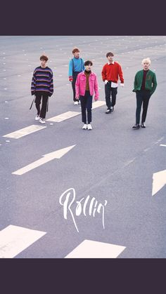B1A4_ comeback_ 7th mini album_rollin'_ gray  version_