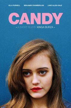 Ella Purnell on Candy