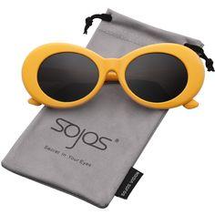 37c7491b8c2 Clout Goggles Oval Mod Retro Vintage Kurt Cobain Inspired Sunglasses Round  Lens SJ2039 Kurt Cobain