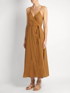 Click here to buy Loup Charmant Ballet Wrap cotton dress at MATCHESFASHION.COM