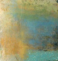 Paul Tiersky: Resin Abstract (22x22 mixed media on board)
