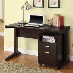 Coaster Fine Furniture 800916 Office Desk with File Cabinet