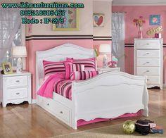 Jual Set Tempat Tidur Anak Minimalis Putih Merupakan