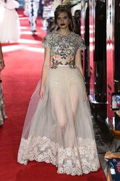 "Dolce & Gabbana Stage a Not-So-Secret ""Secret Show"" of Eveningwear"