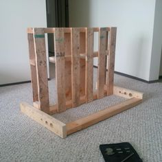 a simple pallet bike rack that i made at work. - Bike Forums