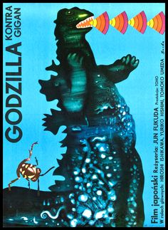 Polish Godzilla Posters: Godzilla vs Gigan
