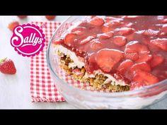 Erdbeer-Brezel-Dessert / super leckerer Nachtisch / Crowdfeeder Dessert - YouTube