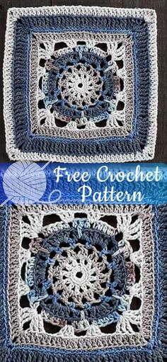 Ideas Crochet Amigurumi Free Patterns Easy Granny Squares For 2019 Crochet Shawl Free, Crochet Squares Afghan, Crochet Stitches Free, Crochet Amigurumi Free Patterns, Crochet Mittens, Crochet Baby Hats, Afghan Crochet Patterns, Granny Squares, Irish Crochet