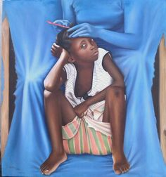 Lusaka - Zambia: Here is a collection of painting by Zambian artist Caleb Chisha. Famous Black Artists, Afro Art, My Black, Hair Day, Disney Princess, Disney Characters, People, Paintings, Beautiful