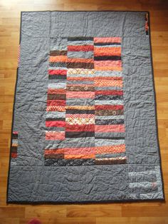 Perfect use of solids, scraps and improve piecing!