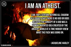 I'm an atheist Losing My Religion, Anti Religion, Famous Atheists, Atheist Agnostic, Doubting Thomas, Where Is The Love, Religious People, Stream Of Consciousness, Free Thinker