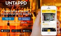 Con UNTAPPD puoi scoprire nuove birre e condividi le tue preferite attraverso il tuo dispositivo mobile. Un nuovo modo di bere social.