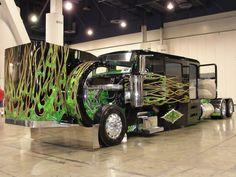 Custom Semi 10 unbuttoned by DrivenByChaos on DeviantArt Peterbilt Trucks, Chevy Trucks, Pickup Trucks, Peterbilt 379, Tonka Trucks, Bagged Trucks, Lifted Chevy, Show Trucks, Big Rig Trucks