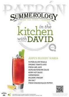 Aspen Bloody Maria #Recipe from @David Venable QVC