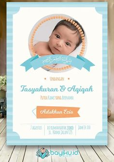 8 Best Aqiqah Card Images Invitations Cards Invitation Cards