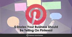 5 Stories Your Business Should Be Telling On #Pinterest https://maximizesocialbusiness.com/5-stories-business-telling-pinterest-13041/?utm_campaign=crowdfire&utm_content=crowdfire&utm_medium=social&utm_source=pinterest