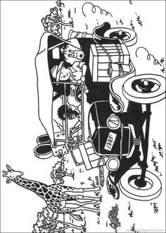 Tintin Coloring Pages 11