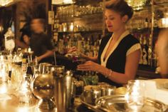 Tipsy bartender emma elhouz