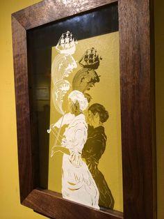 MarietaEstateQuieta: Increible arte con Papel de Maude White.