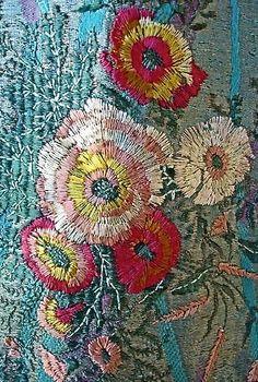 embroidery detail - Madame Babani, 1925