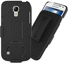 Samsung Galaxy Mini Case Stalion Secure Holster Shell Belt Clip Kickstand Combo Jet Black 180 Degree RotatingLocking Swivel Shockproof Protection *** More info could be found at the image url. (This is an affiliate link) Dremel Accessories, Gopro Accessories, Sunglasses Accessories, Cell Phone Accessories, Gopro Camera, Galaxy S4 Mini, Samsung Galaxy S4, All In One, Shell