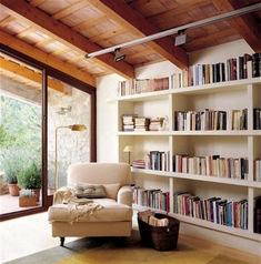 Cozy Home Library Interior Idea (41)