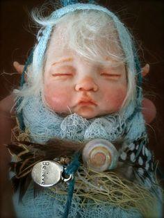 Made to Order Custom OOAK Fairy/pixie baby by rosannasart on Etsy, $125.00