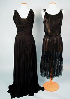 Bergdorf Couture Dress, 1957<br /> October 24, 2004 - Session 2<br /> Lot 500 - $2,500.00