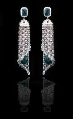 Waterfall earrings by Piranesi Fine Jewelry