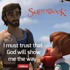 God asked Gideon to do things that are beyond human logic. And instead of growing in numbers, Israel's army was trimmed down to 300. But Gideon trusted that God will show Him the way. True enough, they won the battle against the Midianites! God knows what He's doing. We just need to trust and obey!#Gideon #BibleStory #KidsDVD Friend Of God, Show Me The Way, Paramount Pictures, Bible Stories, Storms, Sunday School, Robots, Plane, Israel