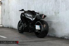 Ducati Diavel Biomechanoid: il concept di Gianni Pacella