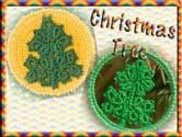 This set includes 10 designs that can be used as Christmas Tree Decorations or Coasters.  As the motifs are worked separately, they can be used for scrapbooking, card making or even adding to your clothes.
