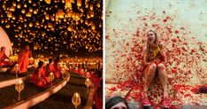 The world is full of fun and crazy people, and these festivals are solid proof. This list features some of the craziest, messiest or most colorful festivals and events ever, which have gathered millions of people from all around the world.
