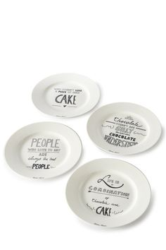 Piece Of Cakes, Decorative Plates, Chocolate, My Favorite Things, Tableware, Kitchen, Dinnerware, Cooking, Tablewares