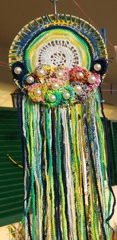 Dreamcatchers, Captain Hat, Hats, Decor, Decoration, Hat, Dream Catcher, Wind Chimes, Decorating